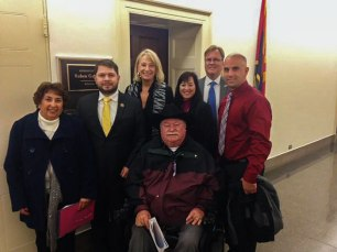 Surprise City Council with Arizona Congressman Ruben Gallego